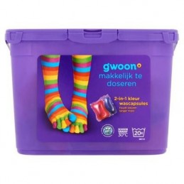 G'WOON WASCAPSULES KLEUR 20...