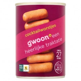 G'WOON COCKTAIL WORSTJES...