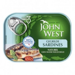 JOHN WEST SARDINES GEGRILD...