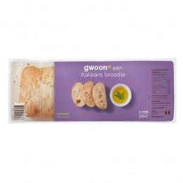 G'WOON CIABATTA BROOD 250 GR.