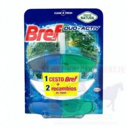 BREF DÚO ACTIV COLGADOR WC...