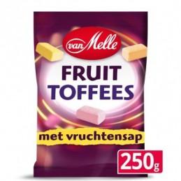 VAN MELLE FRUITTOFFEES 250 GR.