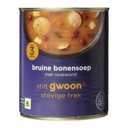 G'WOON BRUINE BONEN SOEP...