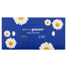 G'WOON TISSUES 3 LAAGS 100...