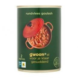 G'WOON HONGAARSE GOULASH...