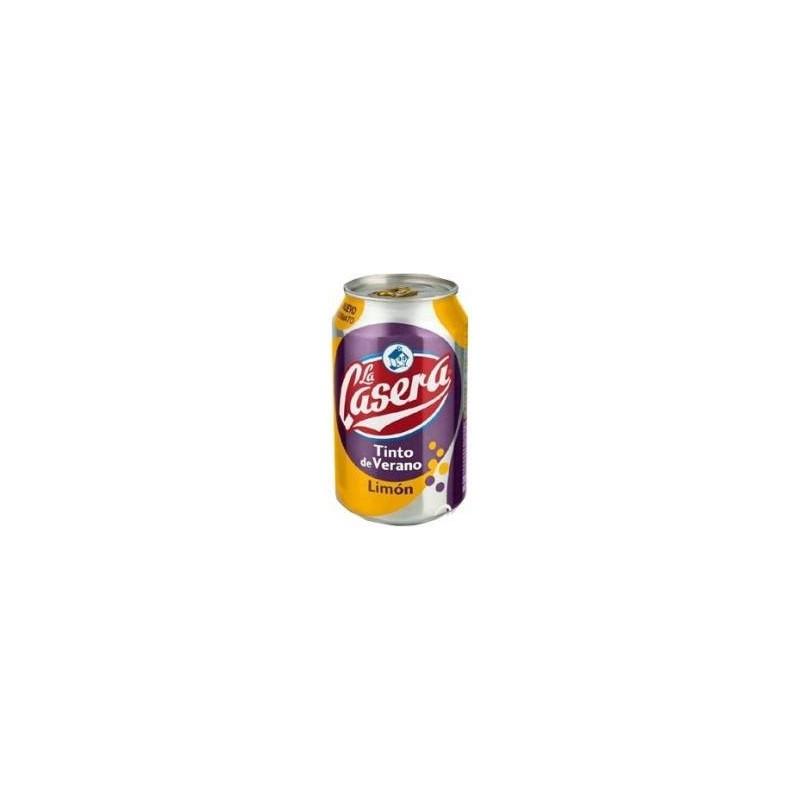 La Casera Tinto Verano Limon Blik 24x33 Cl