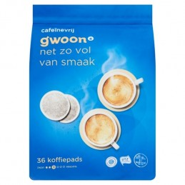 G'WOON PADS CAFEINE VRIJ 36...