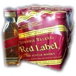 JOHNNIE WALKER RED 5 CL.