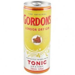 GORDON'S & TONIC BLIK...