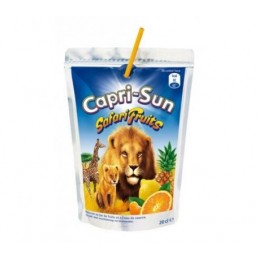 CAPRI-SUN ZUMO SAFARI 200 ML.