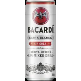 BACARDI & COLA BLIK 12x25 CL.
