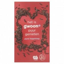 G'WOON CHOCOLADEHAGEL PUUR...