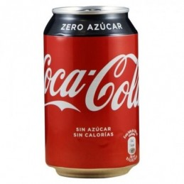COCA-COLA ZERO BLIK 33 CL.