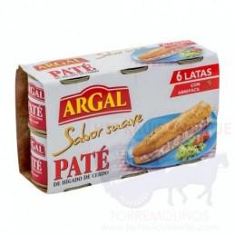 ARGAL PATÉ DE CERDO SABOR...