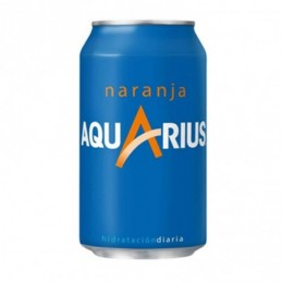 AQUARIUS NARANJA BLIK 33 CL.